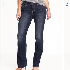 Old Navy Curvy Bootcut Jeans Dark Wash Size 18S